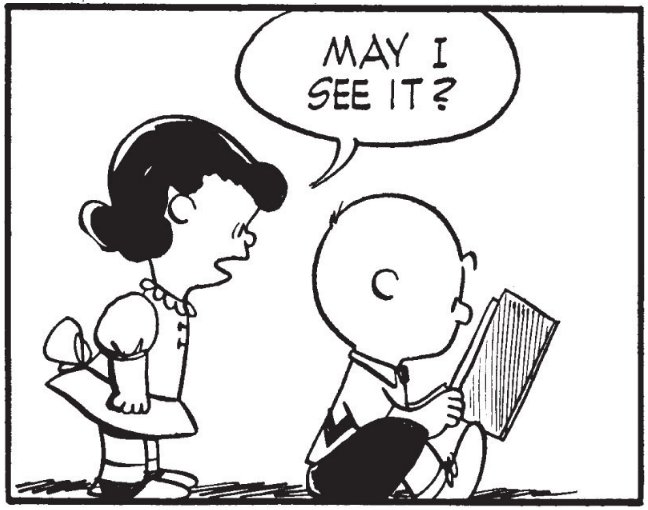 RT @MEdwardsVA: This is still one of the best Peanuts strips. https://t.co/9KOZUmEHrD