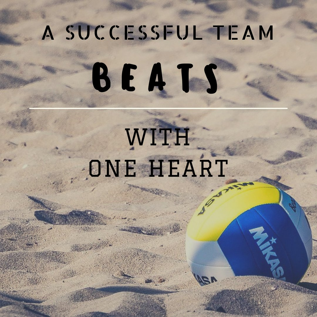 A successful team beats with one heart. #Volleyball #VolleyballPlayer #VolleyballGame #Sports <br>http://pic.twitter.com/dBFu7YRlyE