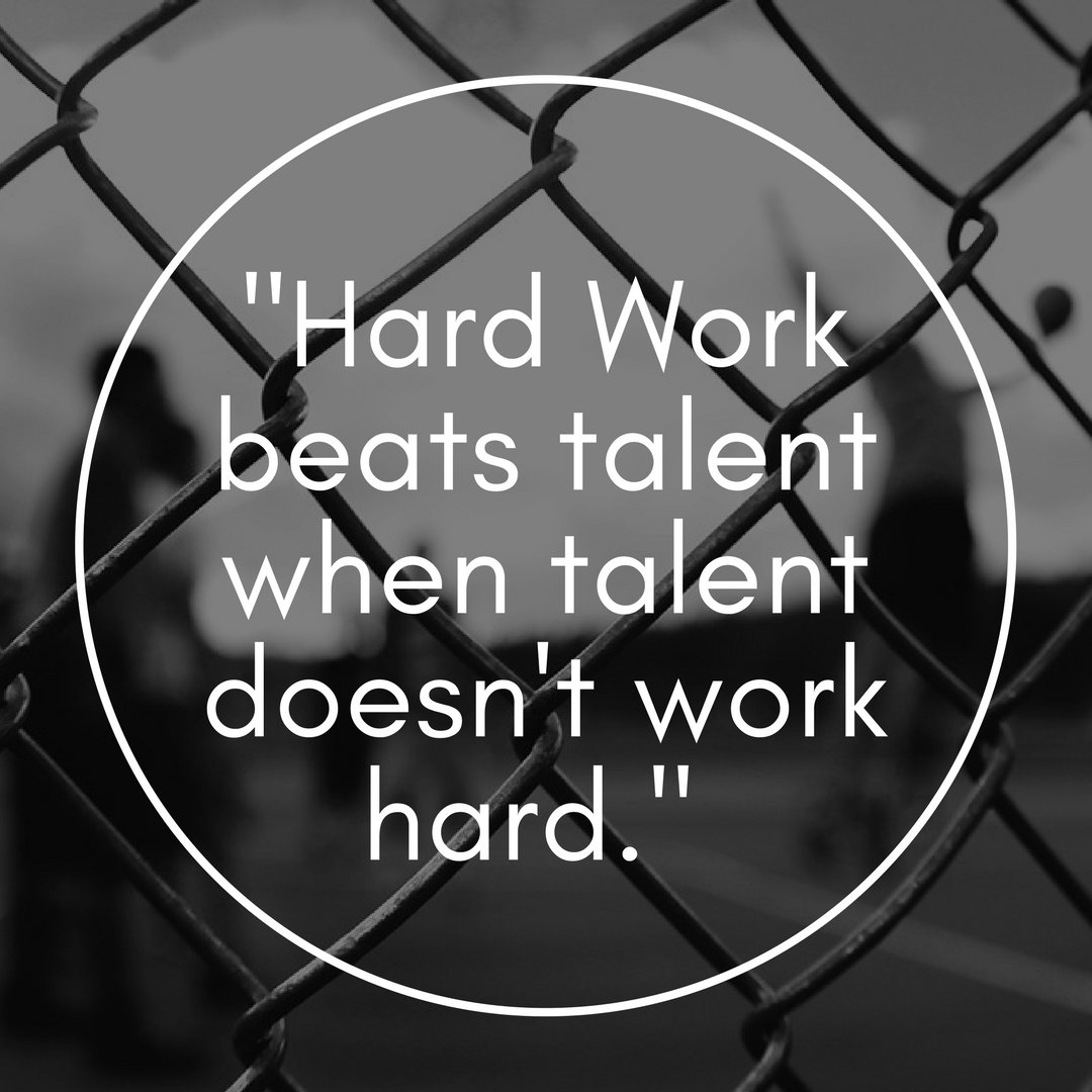 Hardwork beats talent when talent doesn&#39;t work hard. #Basketball #BasketballPlayer #Sports <br>http://pic.twitter.com/gTEREMZqbN