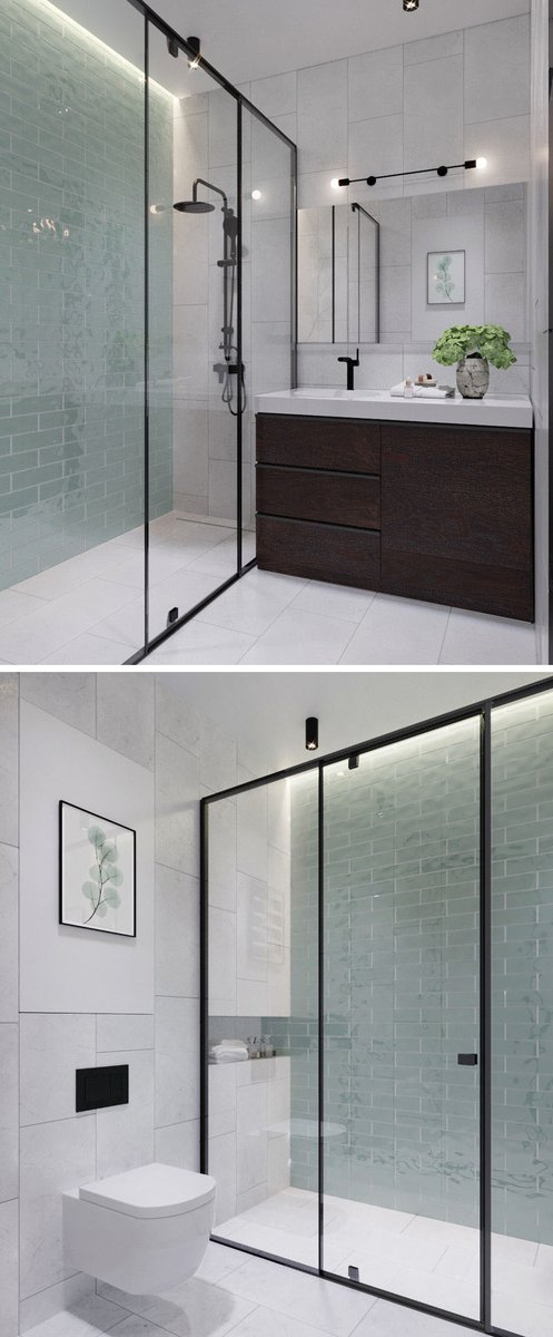 This #bathroomdesign uses #hiddenlighting to provide a calm glow.   http:// cpix.me/a/34804405  &nbsp;  <br>http://pic.twitter.com/NWFNsF3kRx