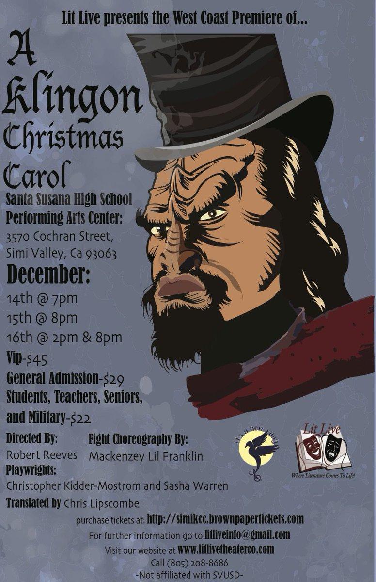 Klingon Christmas Carol (@KlingonXmas) | Twitter