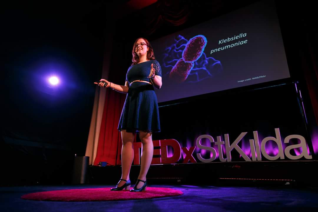 Some neat pics from my #tedx talk with @TEDxStKilda - talk to be released soon!  #scicomm #TEDTalks #TEDxtalks #amr #mdr #superbugs<br>http://pic.twitter.com/WqezhfrXES