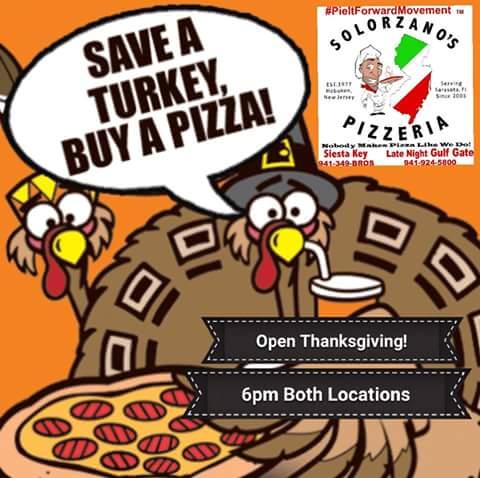 Save a Turkey buy a pizza! #GulfGateVillage #ShopGulfGate #LoveGulfGate #GulfGateRocks #LoveSrq #LoveFL #LoveSK #Srq https://t.co/ULDVa2OOfN