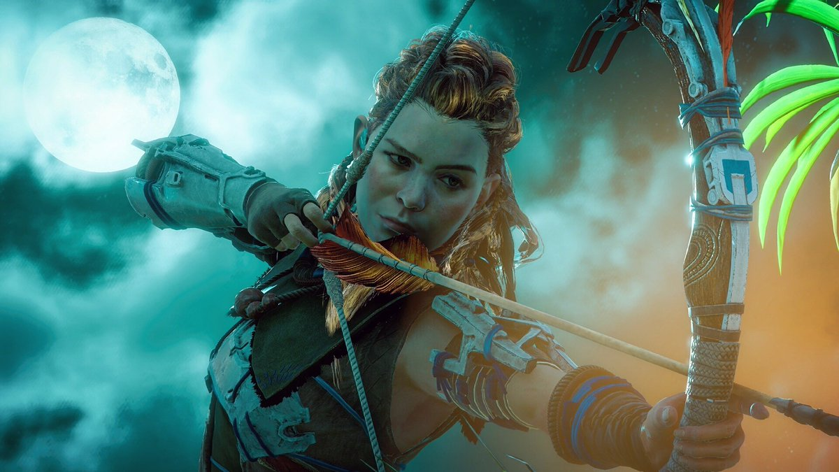 RT @Snowgoose95: she's running and fighting and very charming 🏹🌴  #HorizonZeroDawn #HZDPhotoMode @Guerrilla https://t.co/pMjA8sL6A6