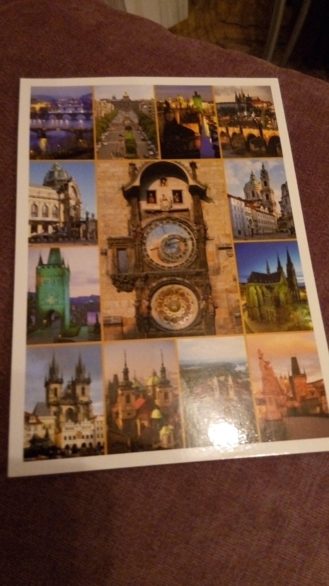 Для открыток, отправка открытки из праги