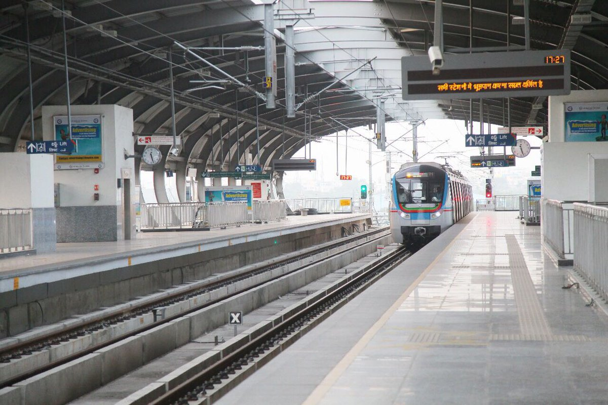 Hyderabad Metro Inauguration Pmo Gives It S Official