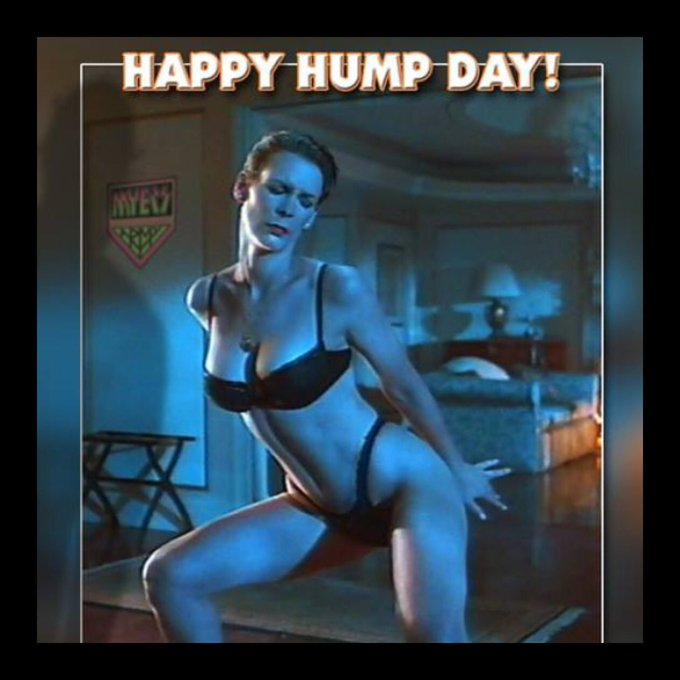 Happy Birthday To The Awesome Jamie Lee Curtis,.  And Happy Humpday, Everyone,.