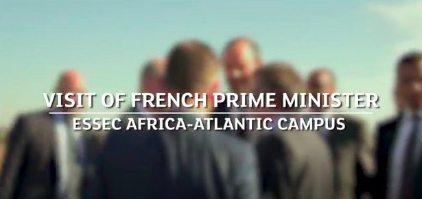 #WATCH: French Prime Minister Édouard Philippe visited the ESSEC Africa-Atlantic Campus   https:// goo.gl/bFftRH    pic.twitter.com/YWvUvR3Nfh