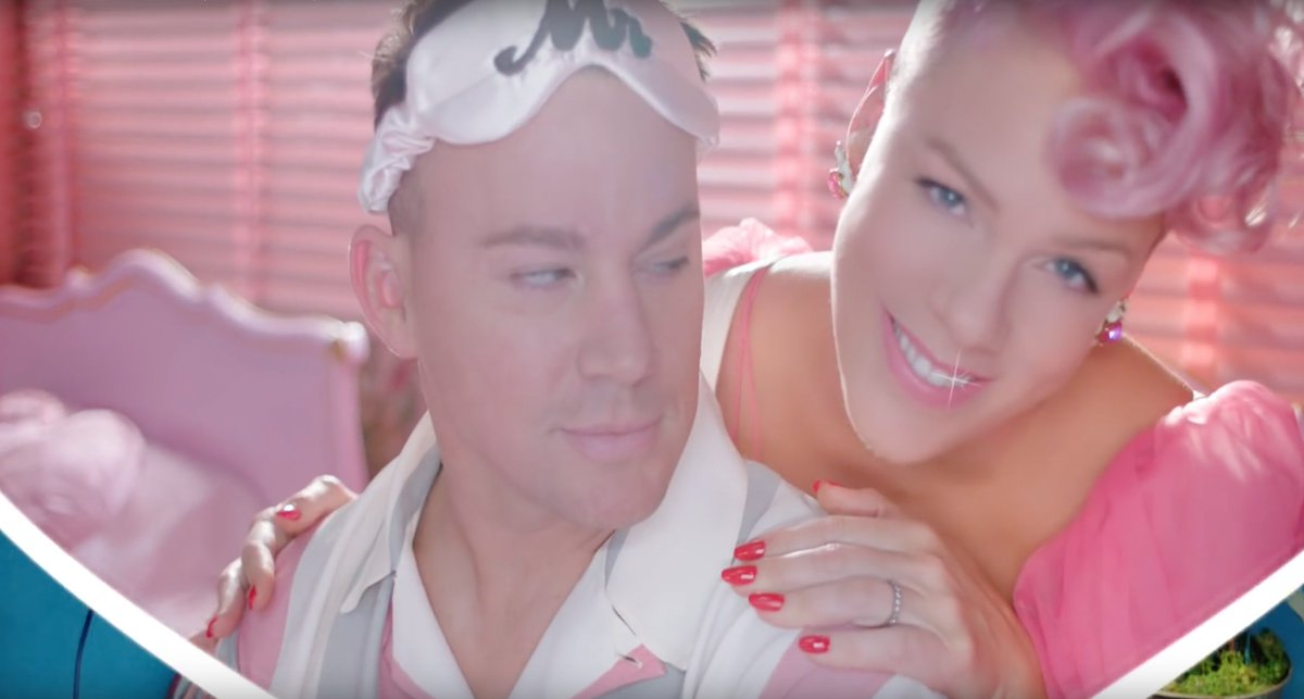 I love Pink&#39;s new music video with Channing Tatum!   http:// bit.ly/2mUAnp9  &nbsp;    #pink #PinkFriday #channingtatum #music #musicvideo #MusicVideos #Wednesday #ThanksgivingEve    http:// spoti.fi/2ghNevG  &nbsp;  <br>http://pic.twitter.com/pImsUefcYv