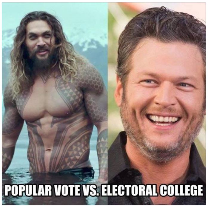 Just sayin&#39;.... #ElectoralCollege #PopularVote<br>http://pic.twitter.com/m8GBLAXiIt