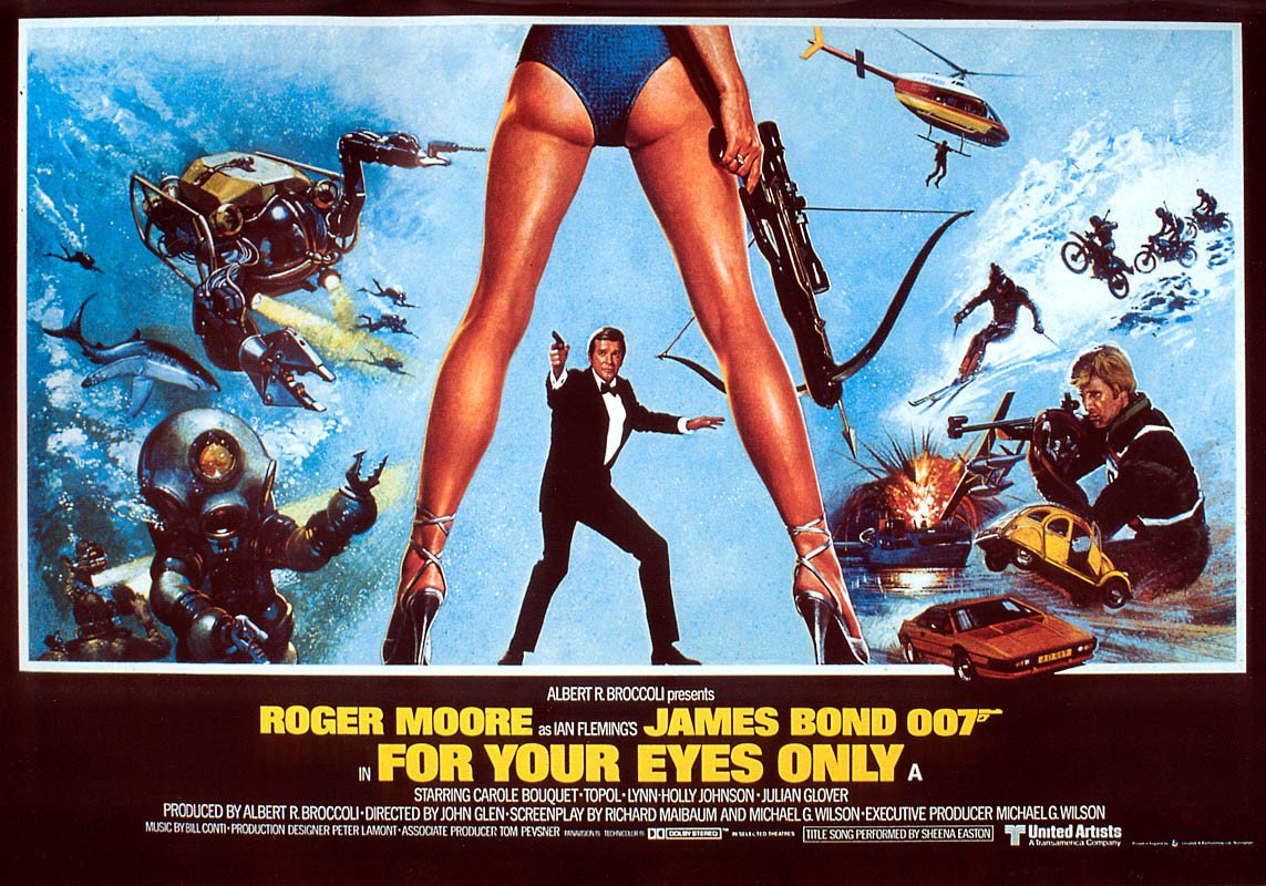 I'm behind on my month long 007 rewatch,...