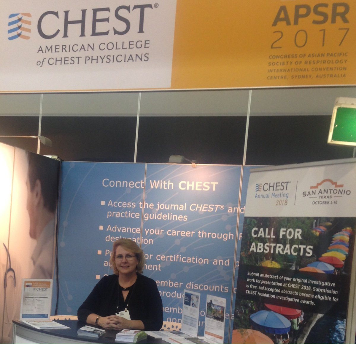 Sue reimbold suereimbold twitter we are excited to see our accpchest members at apsr 2017 in sydney stop by stand 10 in the exhibit hall at tonights welcome receptionpicitter xflitez Gallery