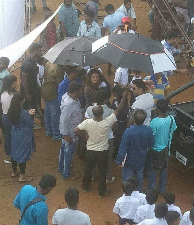 . @MsKajalAggarwal  Miss gorgeous   Mr Handsome   #MLA  working spot still     Heard that #MLA gonna release on 15.02.18  ! On the same date of #Laxmikalyanam release after 11 years   some updates please kaj  @smkoneru  -  #KajalAggarwal #Kajalism<br>http://pic.twitter.com/Sj1RI9vvg3
