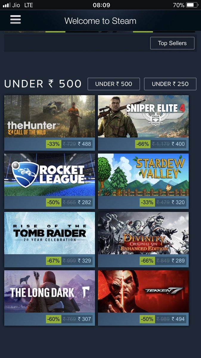 #Steam Sale is here but no CodWW2 😡. #Steamsale #SteamAutumnSale @steam_games https://t.co/tCuXn2YL3M