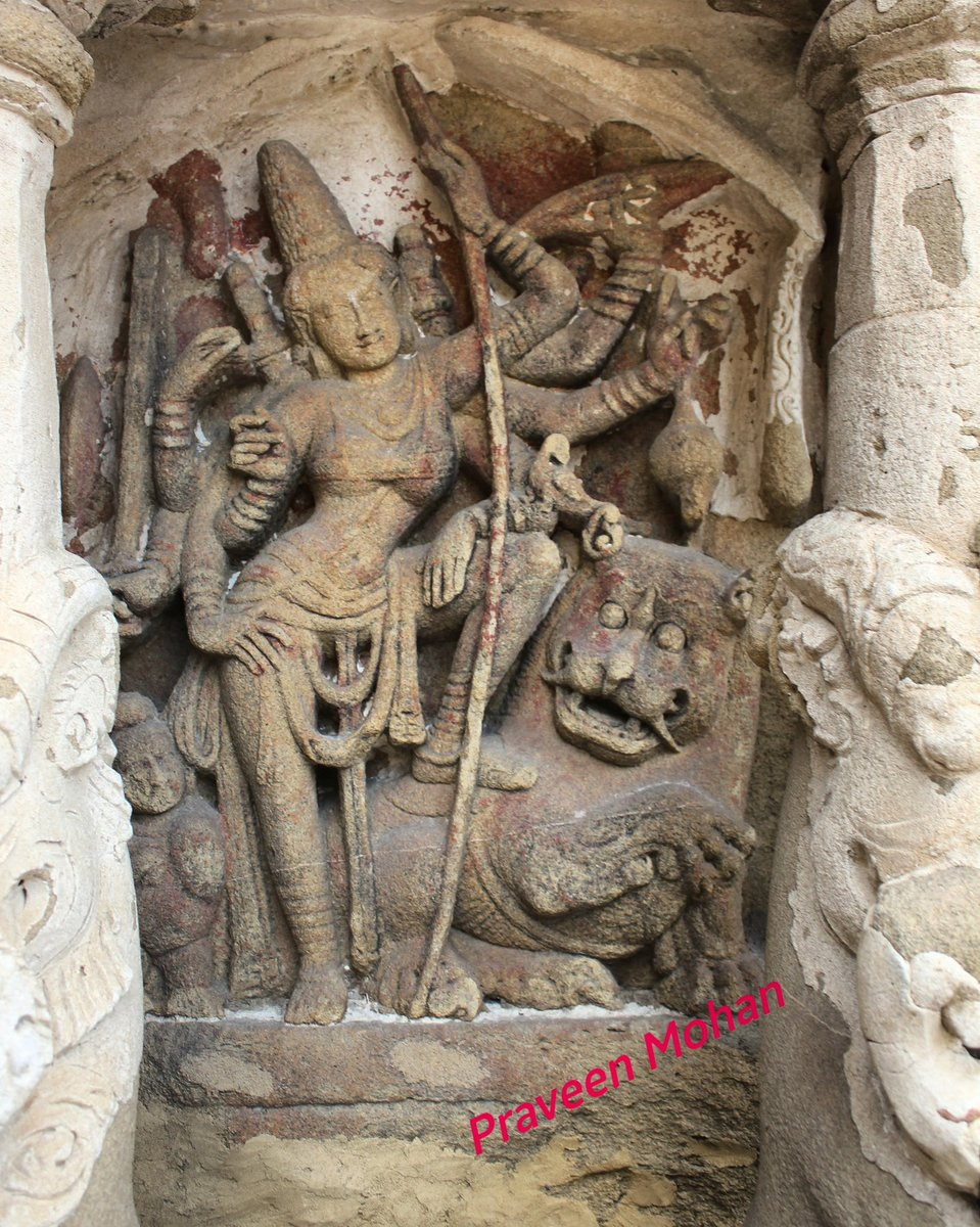 Watch this beautiful deity with a smile posing on top of a mystical animal..Looks like she has accomplished something..what are the different weapons &amp; things that are being held in 8 hands?#LPIndia #NGTindia #ThursdayThoughts #Indiatravel #incredibleindia #followme #praveenmohan<br>http://pic.twitter.com/UdxU7Ogf2y