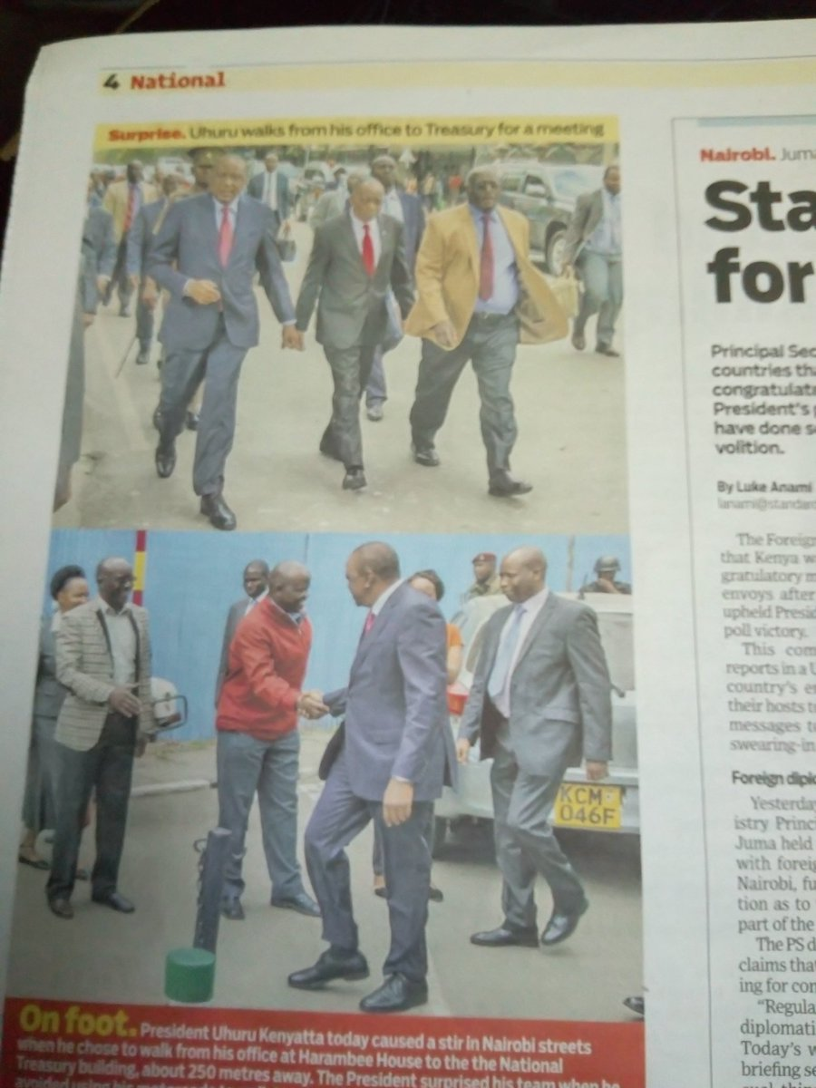 #NewsPaperReview #Brekko  #Kalonzo #Uhuru  #NASA #Zimbabwe #ChampionsLeague https://t.co/zBDXf59Vo8