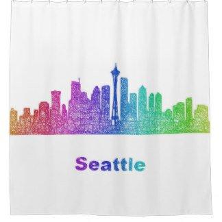 Rainbow Seattle skyline Shower Curtain  http://www. zazzle.com/rainbow_seattl e_skyline_shower_curtain-256005775934346836?rf=238665768715686892 &nbsp; …  #homedesign #bathroomdesign <br>http://pic.twitter.com/SMsf7aYIyg