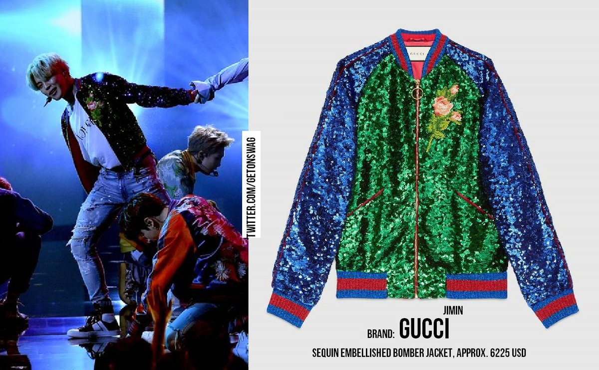 Here's all the Gucci BTS wore at their A...