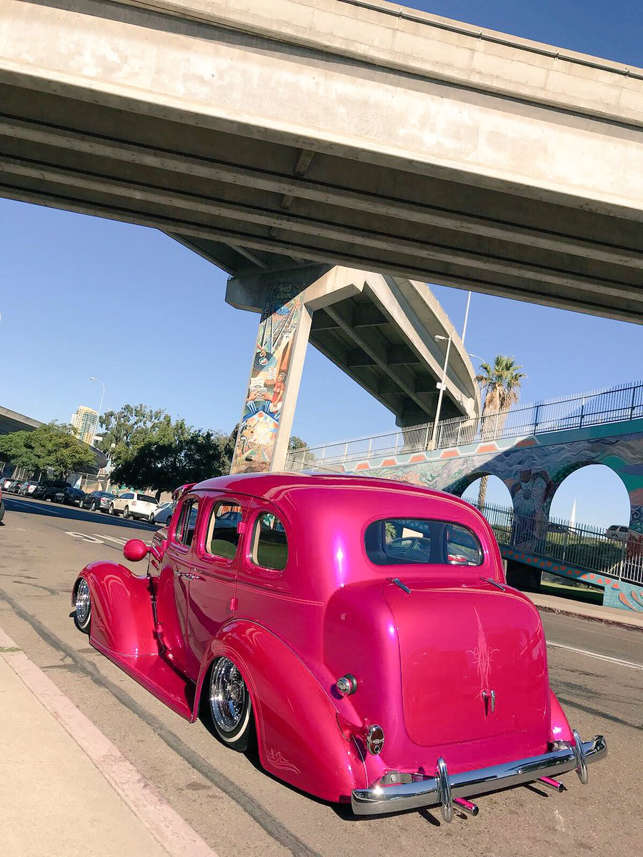 Loved this 1936 #Chevy - #Pink <br>http://pic.twitter.com/3OoA5xwXib