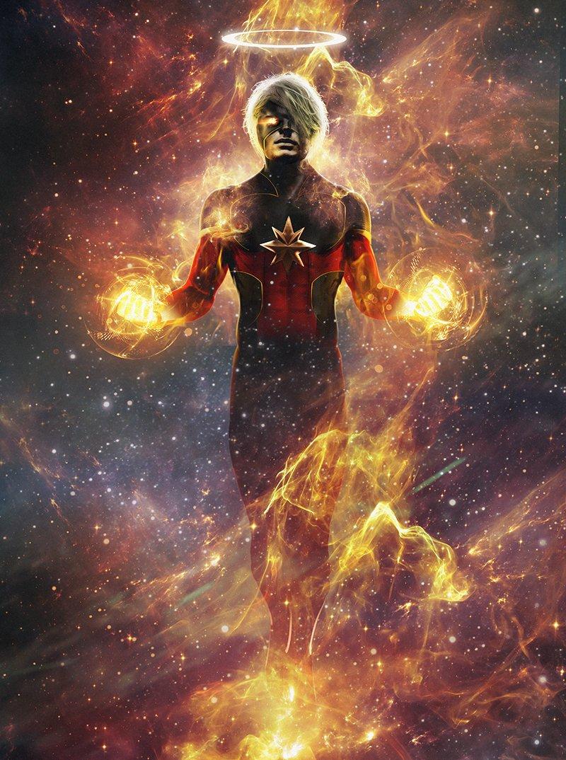 Captain Marvel ( Marvel) - Page 2 DPSmDgCX4AAt6zc