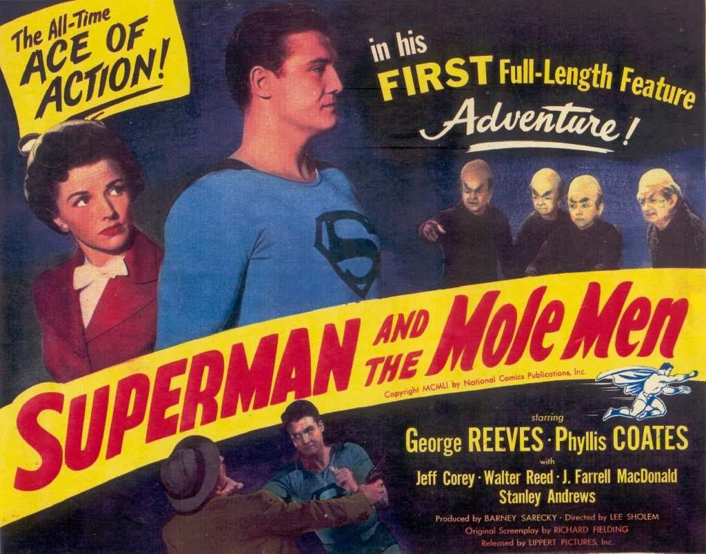 #DidYouKnow The theatrical film &quot;#Superman  and the Mole Men&quot; premiered #OnThisDay November 23 in 1951, leading to the successful television series starring George Reeves.  https:// youtu.be/glnJX6QkUrE  &nbsp;  <br>http://pic.twitter.com/y7XK6GrYoV