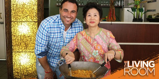 Join Him In Learning How To Make The BEST Nasi Goreng! 7.30 Tomorrow On TEN Pic.twitter.com/5KkyXvZsXp Part 84