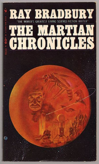 Great #authors of #scifi. The Martian Chronicles (1967) by Ray Bradbury.<br>http://pic.twitter.com/YR54TNt7eB