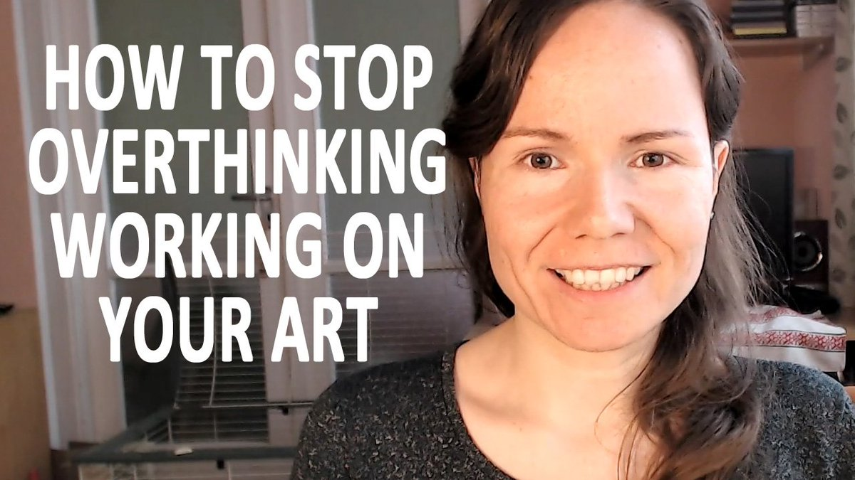 VIDEO: How to stop overthinking working on your art:  https://www. youtube.com/watch?v=4pM0pE Ac7Ac &nbsp; …  #arttips #overthinking #arttips<br>http://pic.twitter.com/JynVSViuXz