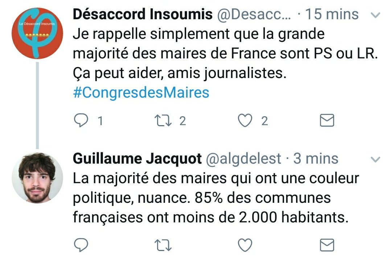 À propos des maires de France, petite pr...