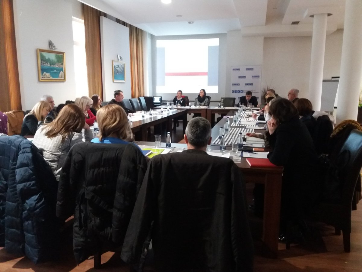Implementation of #Index for Inclusion in focus of the @OSCEBiH supported meeting in #Gorazde #BoljeObrazovanje<br>http://pic.twitter.com/QlXi2n6iz4