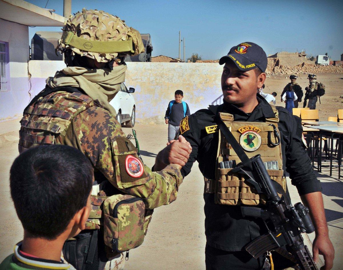 القوات الخاصة ومعركة الموصل  DPT6GL8WkAADMO8