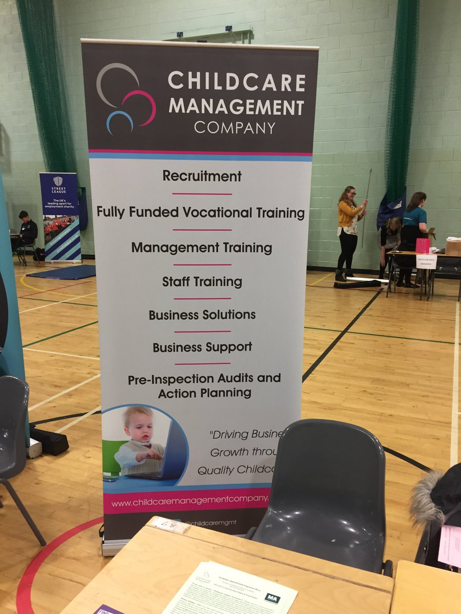 childcare management on twitter childcare management company are at standrewshs careers fair today looking forward to meeting all the pupils