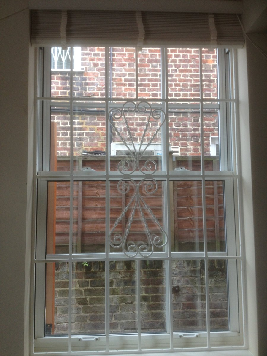 Our RSG2000 Security Window Bars Fitted To The Window Of A Flat In East  London. Https://www.rsgsecurity.co.uk/rsg2000 Security Window Bars.php U2026