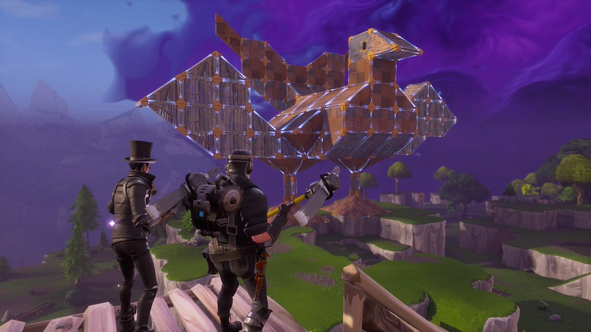 Fortnite On Twitter Now This Is A Turkey Fort Amazing