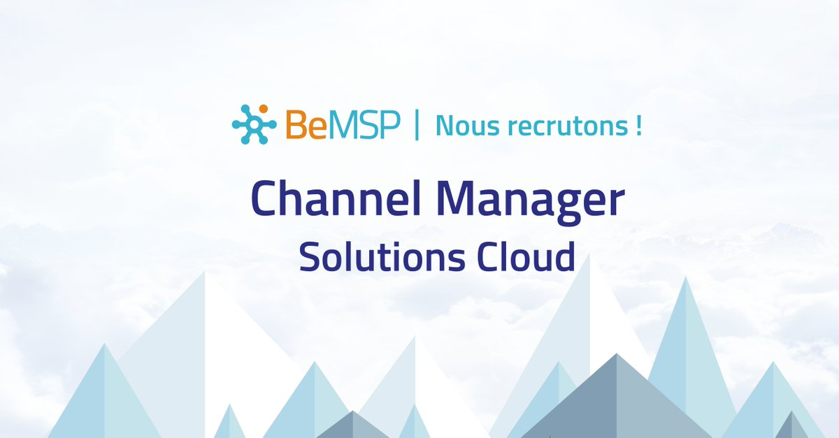 [Looking for] BeMSP recherche un / une Channel Manager Solutions Cloud  http:// bmsp.in/2ighryZ  &nbsp;   #recrutement #commercial<br>http://pic.twitter.com/2aPRkBLuwR