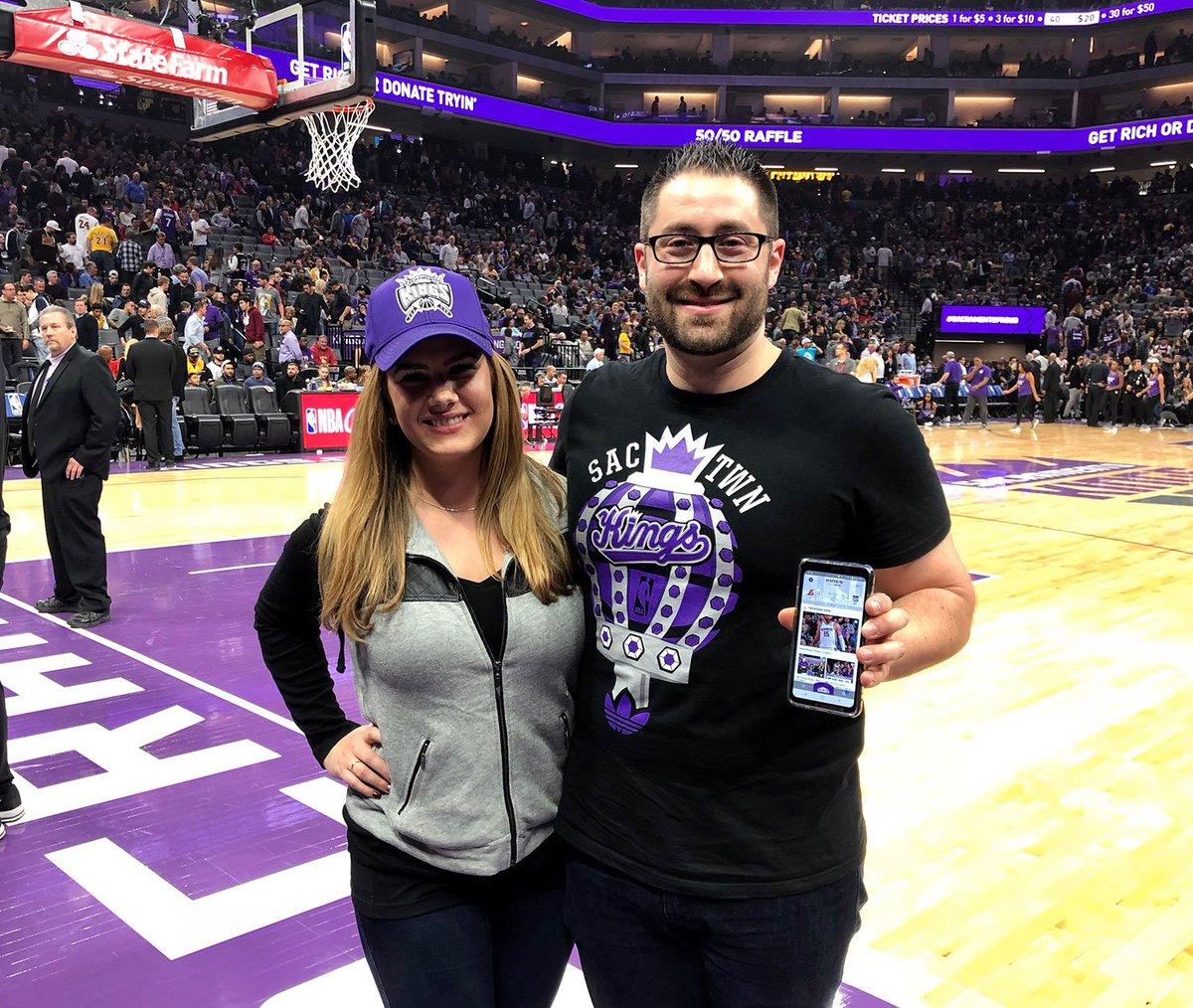 Sacramento Kings On Twitter Floor Seat Winners Witnessed