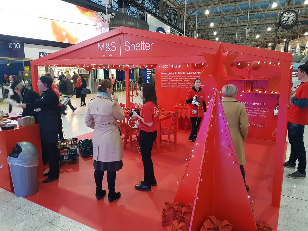 Marks and Spencer partner with Shelter to highlight homelessness at Christmas
