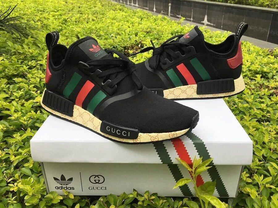 Custom GUCCI x Adidas NMD: $129.95 (https://t.co/suQ7dltjFc) https://t.co/X8C8ymZFeO