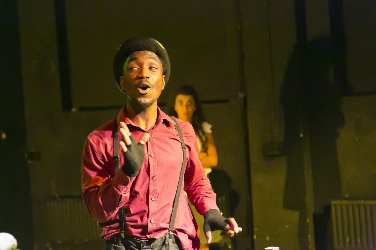 CLIMANDO is played by Andrew that graduated hours before the premiere. What a way to celebrate!   He is still looking for a way to pay for his Tricycle, so come and join him in his challenge @BETCamberwell  3 days left! #TeamClimando #TheTricycle #theatre #play #graduation #stage <br>http://pic.twitter.com/z9QRI1Iw6C
