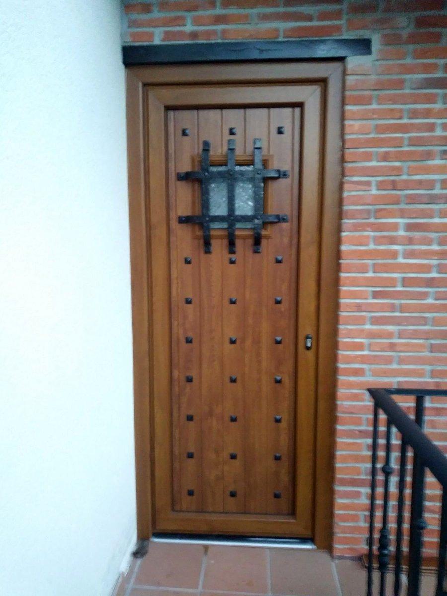 Puertas Rusticas De Aluminio Beautiful Puertas De Aluminio  ~ Puertas De Entrada De Aluminio Rusticas