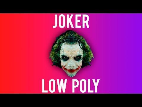 Joker Low Poly Speed Art [Adobe Illustrator]  http:// dlvr.it/Q2RQVx  &nbsp;   #lowpoly #tutorial <br>http://pic.twitter.com/Vx4WQKYKSW