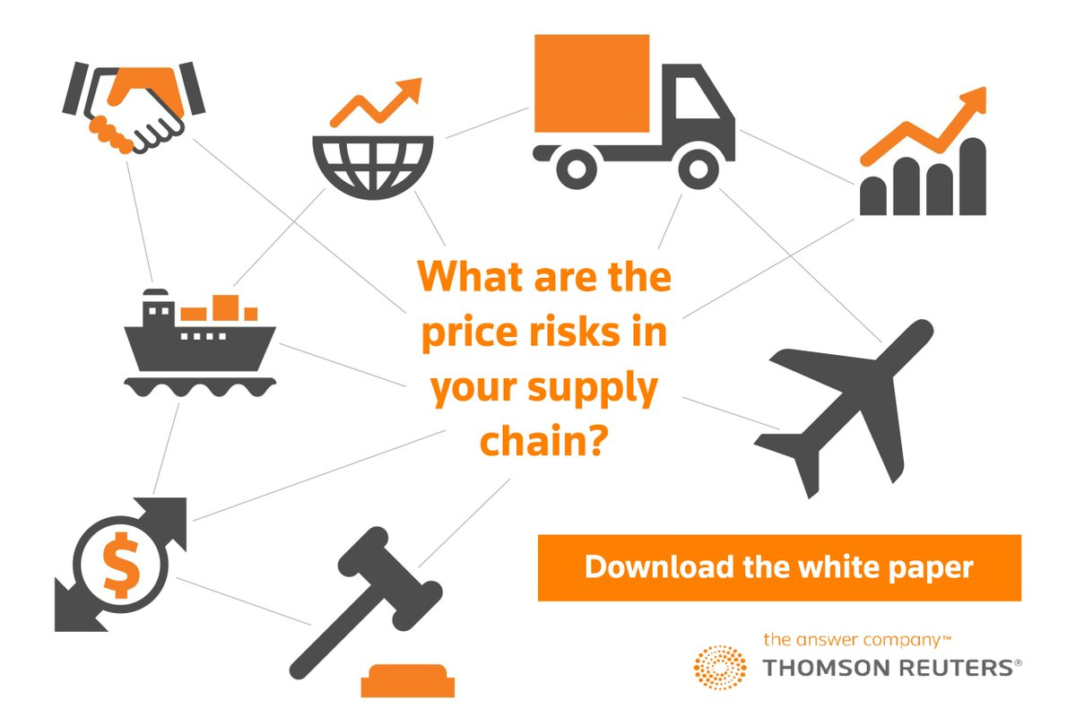 What are the #PriceRisks in your #SupplyChain? Our new white paper explores. Download it here:   http:// tmsnrt.rs/2BfEmj9  &nbsp;  <br>http://pic.twitter.com/D4uUVvxhbe