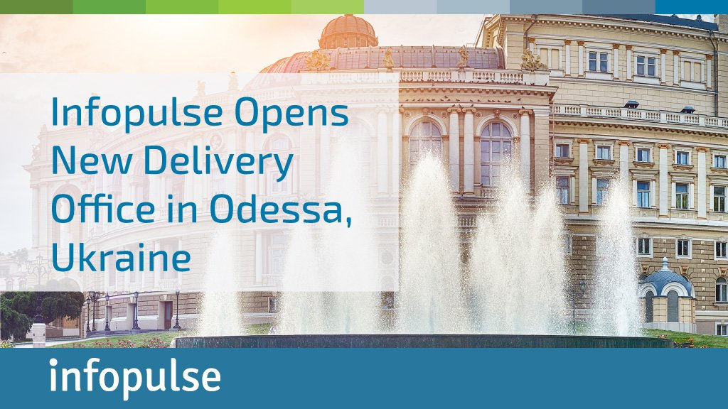 Infopulse launched new delivery center in Odessa, Ukraine. Read our press release to learn more  http:// bit.ly/2hSiCVL  &nbsp;   #NewMarkets #NewHorizons #Growth #LocalExpansion<br>http://pic.twitter.com/C2Q4RP4J1L