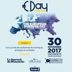 1300 participants, 65 intervenants prestigieux, 10 heures de débats : le #EDayParis,  c'est le carrefour business pour les décideurs européens et c'est à @Paris_Dauphine le 30/11👉https://t.co/QHva2PXQ3d