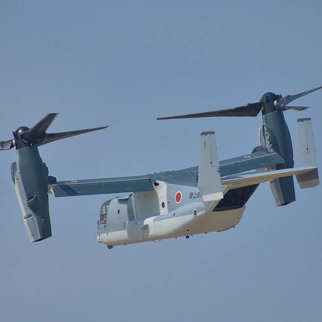 現地スポッターが撮影したアメリカで飛行試験中の陸上自衛隊向けV-22 オスプレイ