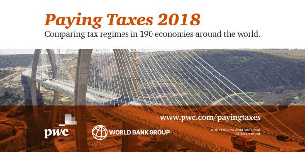 Download Paying #Taxes 2018 – Full PDF or by chapter available on https://pwc.to/PT18dwnl  #PwC @WorldBank @DoingBiz