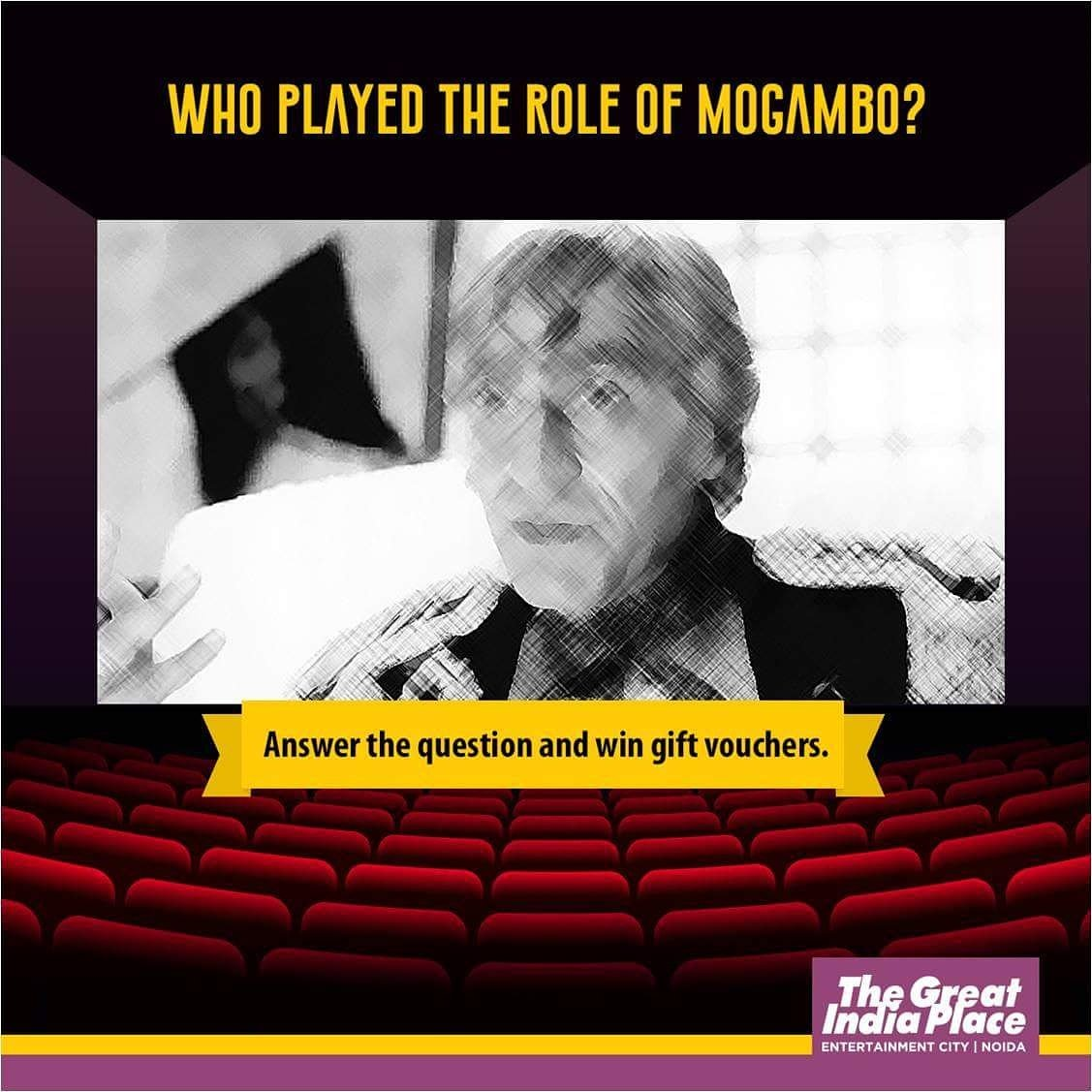Are you a #movie buff? Answer this and 5 lucky winners to #win exciting vouchers worth Rs 1000. Anytime is movie time at #TheGreatIndiaPlace. Do not forget to #followus, share the post and invite at least 5 of your friends to join in the fun. #ContestAlert<br>http://pic.twitter.com/IwfTqx8gk1