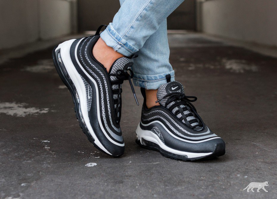 nike air max 97 ultra 17 black white