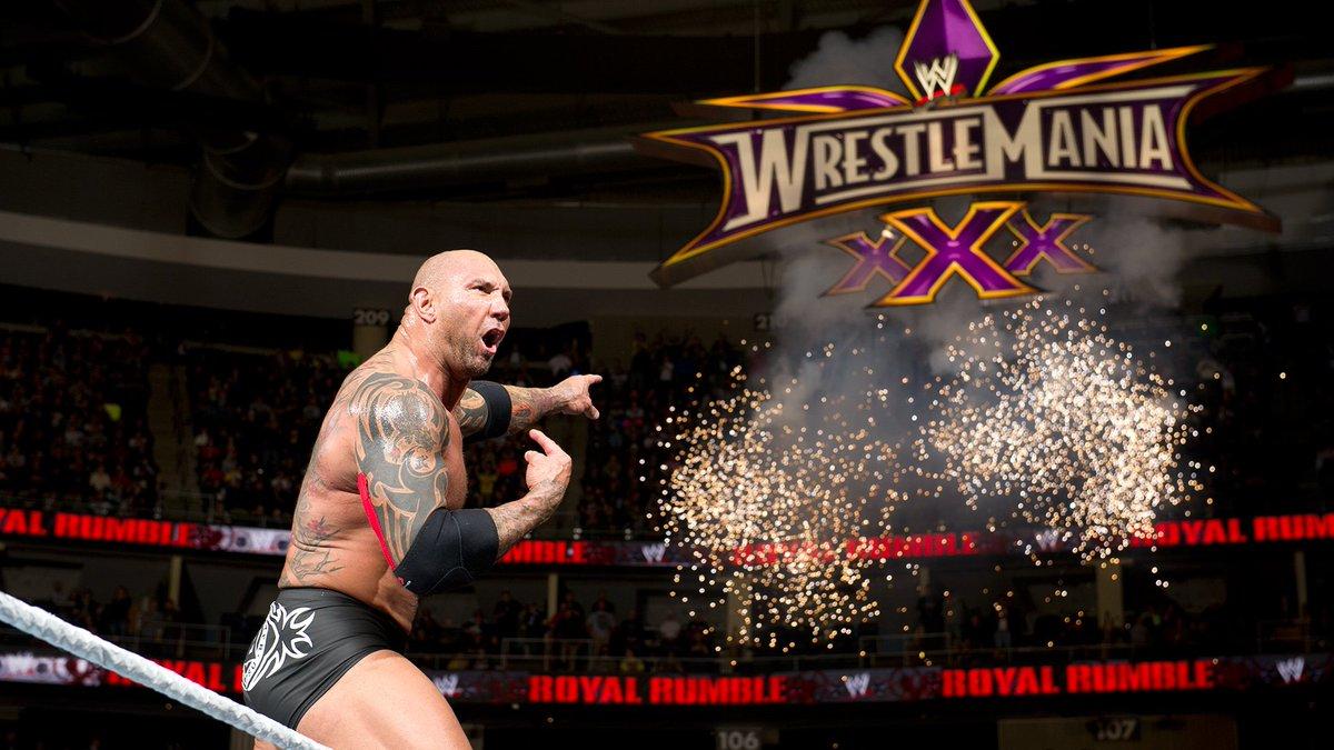 Batista pode estar retornando à WWE