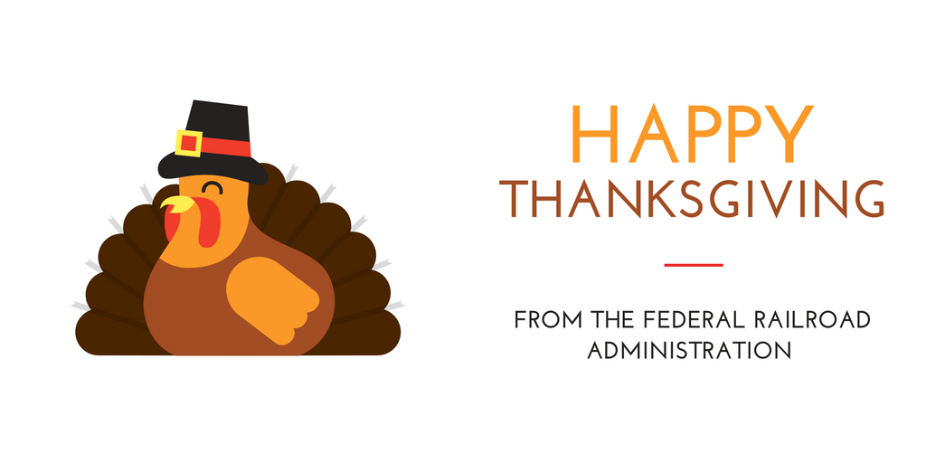 #HappyThanksgiving! Whether you&#39;re traveling by train, plane, bus or car, #FRA wishes you safe travels and a happy holiday season. <br>http://pic.twitter.com/jc9RT2nKBg